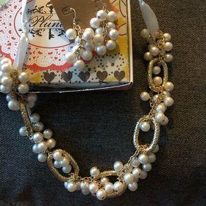 Earrings & Necklace Set